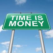 Tid är pengar. — Stockfoto