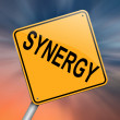 Synergy concept. — Stock Photo