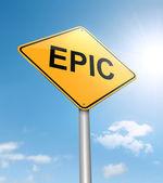 Epic concept. — Stock Photo