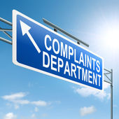 Complaints department. — Stock Photo
