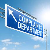 Complaints department. — Stock Photo