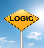 Logic concept. — Stock Photo