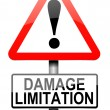 Damage liability concept. — Stock Photo