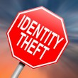 Identity theft concept. — Stock Photo #13779858