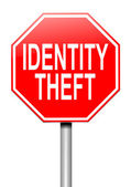 Identity theft concept. — Stock Photo