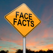 Stock Photo: Face facts.