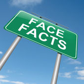 Face facts. — Stock Photo