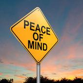 Frieden des Verstandes. — Stockfoto