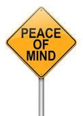 Peace of mind. — Stock Photo