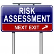 Risk assessment concept. — Stock Photo #14153693