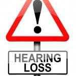 Постер, плакат: Hearing loss concept