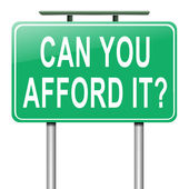 Can you afford it? — Stock Photo