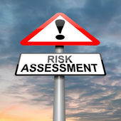 Risk assessment concept. — Stock Photo