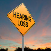 Hearing loss concept. — Stock Photo