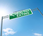Healthy eating concept. — Stock Photo