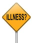 Illness concept. — Stock Photo