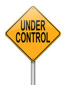 Under control. — Stock Photo