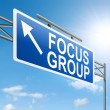 Focus group concept. - Stock Photo