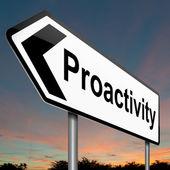 Proactive concept. — Foto de Stock