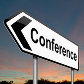 Conference concept. — Stock Photo