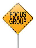 Focus group concept. — Stock Photo