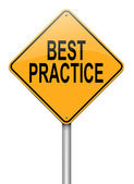 Best practice concept. — Stock Photo
