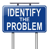 Identify the problem. — Stock Photo