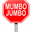 Mumbo jumbo concept. — Stock Photo