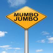 Mumbo jumbo concept. — Stock Photo