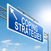 Coping strategies. — Stock Photo
