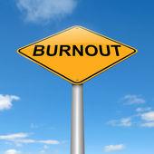 Burnout concept. — Stock Photo