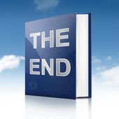 The end. — Stock Photo