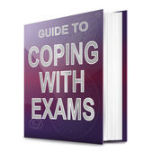 Coping with exams. — Stock Photo