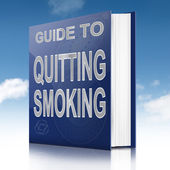 Quitting smoking concept. — Stock Photo