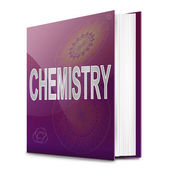 Chemistry text book. — Stock Photo