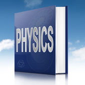 Physics text book. — Stock Photo