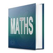 Libro di matematica. — Foto Stock