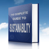 Sustainability concept. — Stock Photo