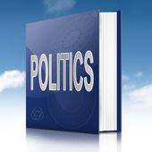 Politics text book. — Stock Photo