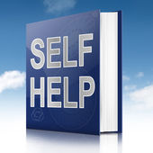Self help book. — Stock Photo