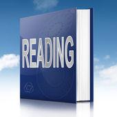 Reading concept. — Stock Photo
