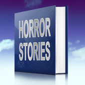 Horror stories. — Stock Photo