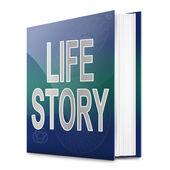 Life story concept. — Stock Photo