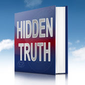 Hidden truth. — Stock Photo