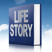 Life story concept. — Stock Photo