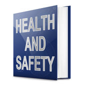 Health and safety text book. — Zdjęcie stockowe