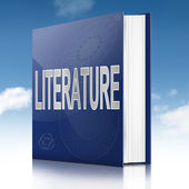 Literature text book. — Stock Photo