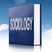 Sociology text book. — Stock Photo