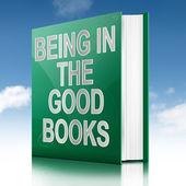 The good books concept. — Stock Photo