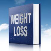 Concetto di perdita di peso. — Foto Stock